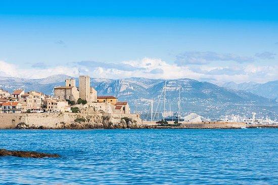 Cannes og Antibes Små gruppe halv...