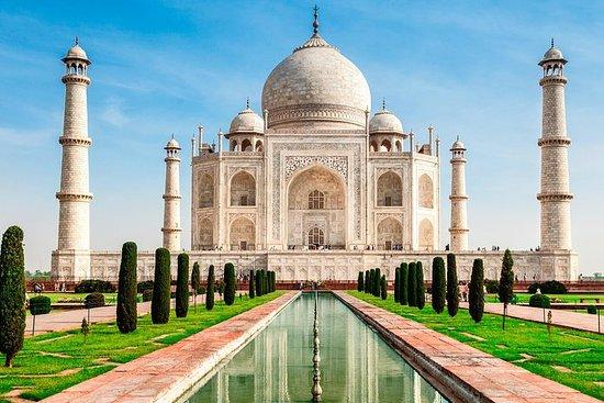 Agra: Taj Mahal Hent-linie...
