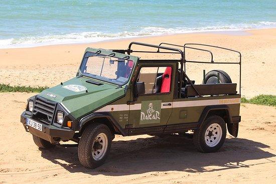 Combi: Jeep et bateau - journée...