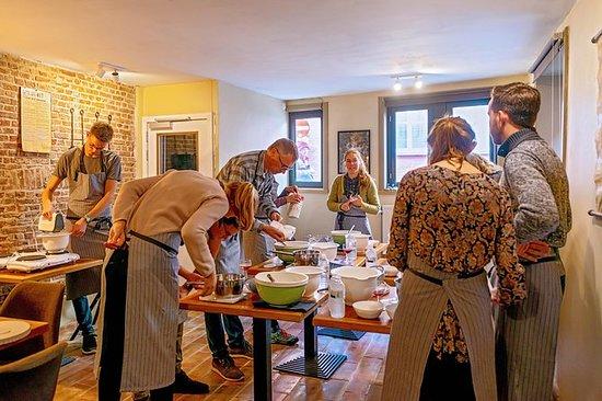 The Waffles-en øl-workshop