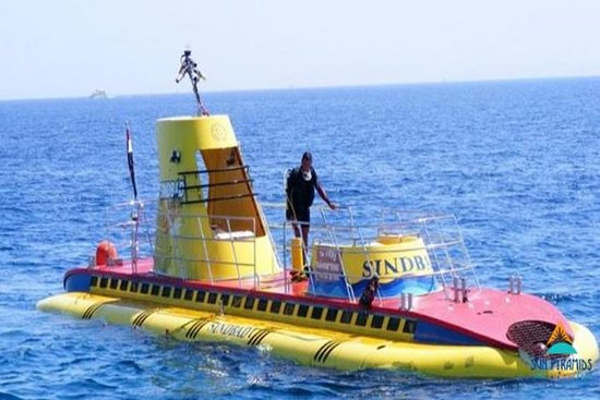 ハルガダの潜水艦ツアー