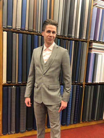 Paul's Fashion Tailors Samui: Our happy client from Austria