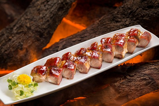 Barbecued Iberico Pata Negra Pork with Maple Syrup