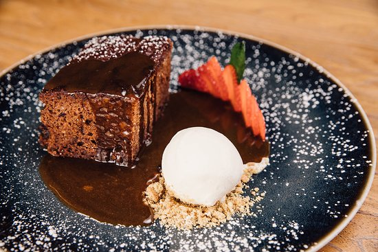 Stables Bar & Grill: Sticky Toffee Pudding