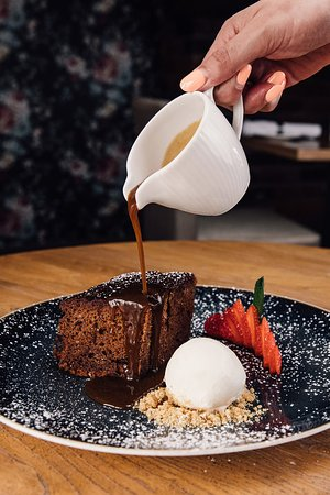 Stables Bar & Grill: Sticky Toffee Pudding number 2