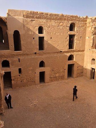 Qasr Kharana: Vue intérieure