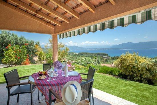 Corse-du-Sud, Francja: Votre terrasse face à la mer du Golfe du Valinco