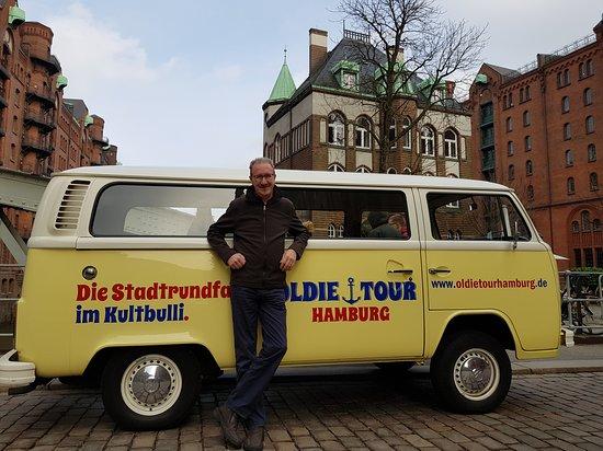 Oldie Tour Hamburg: In der Speicherstadt