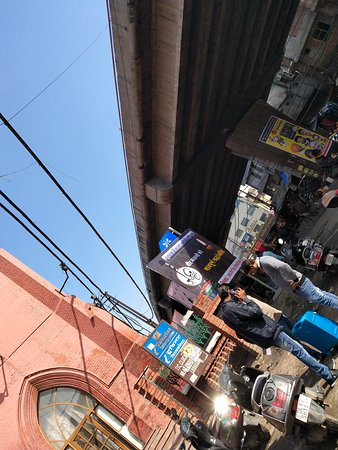 Clock Tower Ghanta Ghar: This is the photograph of market which is adjacent to Clock Tower which is also known as Ghanta Ghar.