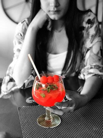 Divo Cafe & Bar: Watermelon Mojito