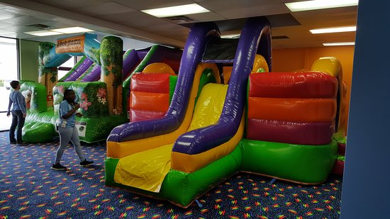 Kingsland, GA: Two of our brand new commercial inflatables