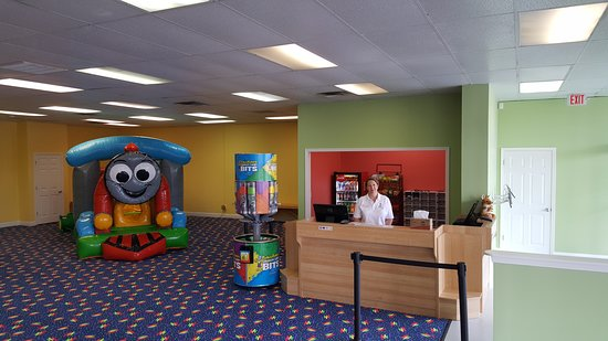 Kingsland, GA: Our concessions and toddler area