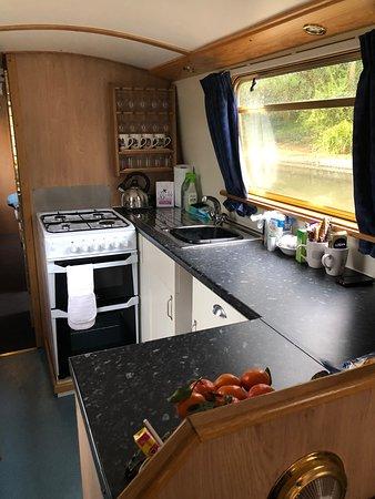 Lower Heyford, UK: Cosy kitchen