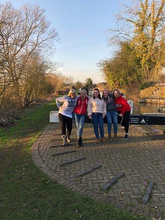 Lower Heyford, UK: The girls