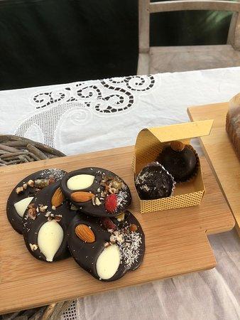 Punta Ballena Market: Mendiants de chocolate y trufas de Casildo