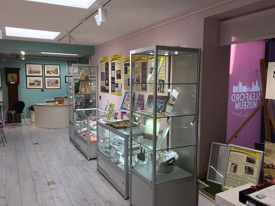 Sleaford Museum looking fantastic after its January 2019 refurbishment