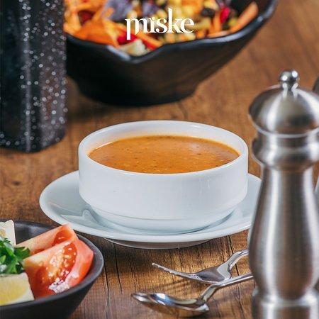 Günün her saatinde mis gibi ezogelin çorbası Miske'desizin için hazır!