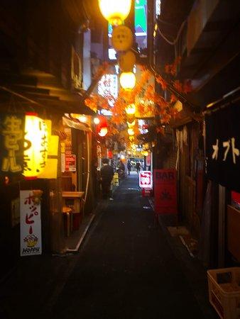 Walk down timeless alley
