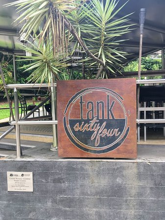 TANK sixty four: Look for the sign