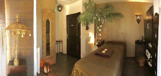 Quiberville, Prancis: Le salon de massage, calme, paisible où Véronique vous chouchoutera !!
