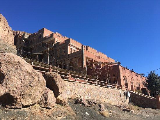 Abyaneh, Iran: Hübsches Hotel mit Restaurant