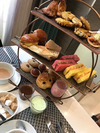 Second visit for Indian Themed Afternoon Tea