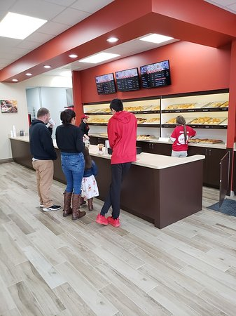 The main counter