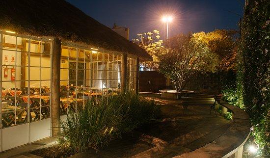 Área externa restaurante