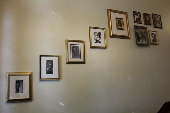 Wall with history of ladies who owned Lady Geneva