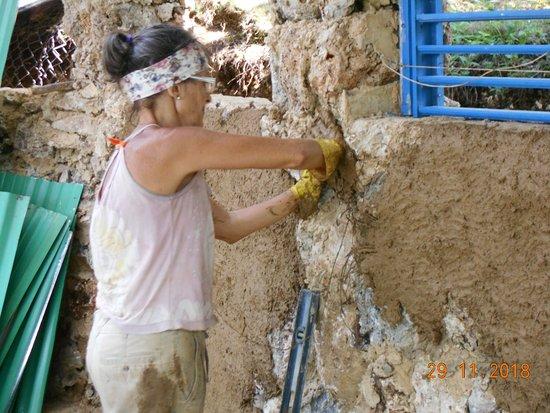 El Limon, Dominican Republic: la experiencia de construir con tus propias manos tu casa....inexplicable