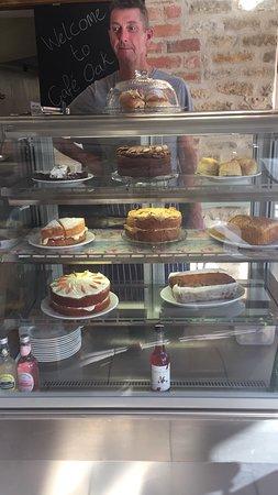 Geddington, UK: Cafe Oak