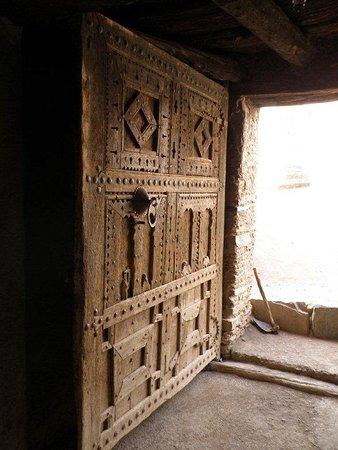 An old door . Photo taken by Karen Bass Natural history . Cultural tour 2012