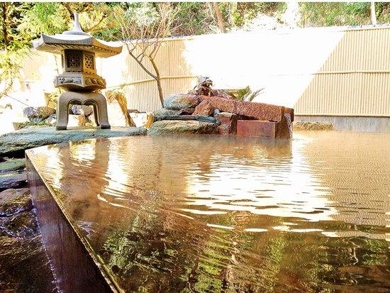 Sanyoso: 天然温泉(ナトリウム・カルシウムー塩化物温泉)