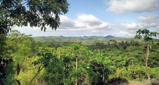 Lazi, الفلبين: Nice Mountain View from Fischer's Berghof to Bandilaan