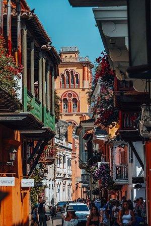 Cartagena District, كولومبيا: Картахена де Индиас - Одного из самых красивых городов Латинской Америки. Находится он в Колумбии на берегу Карибского моря.