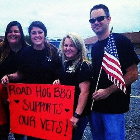 Beebe, AR: We support our military! Receive your military discount with proper ID.  Thank you for your service. ❤️