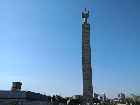 Monument to 50 Years of Soviet Armenia