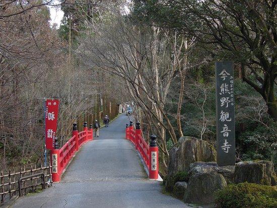 Imakumano Kannon-ji Temple Torii bridge