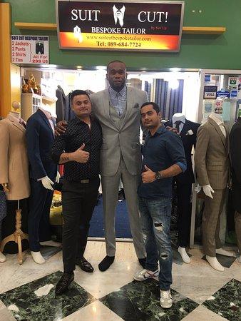 Suit Cut Bespoke Tailor