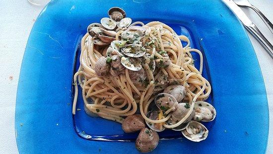Il Pincio: Spaghetti alle vongole e limone