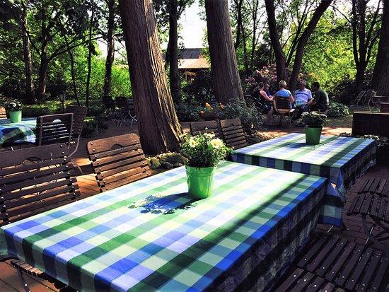 Hermannsburg, Allemagne : Unser Biergarten