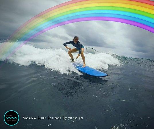 Moana surf school Tahiti
