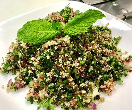 Salad Shop: Quinoa Tabbouleh Salad