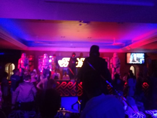 Club Med Cancun: Party time at Club Med Cancun