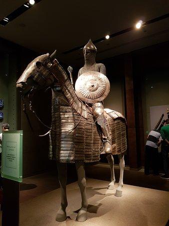 cavaliere con il cavallo