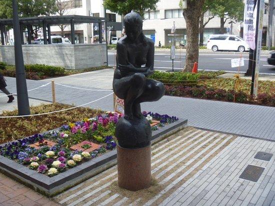 Danryu Statue