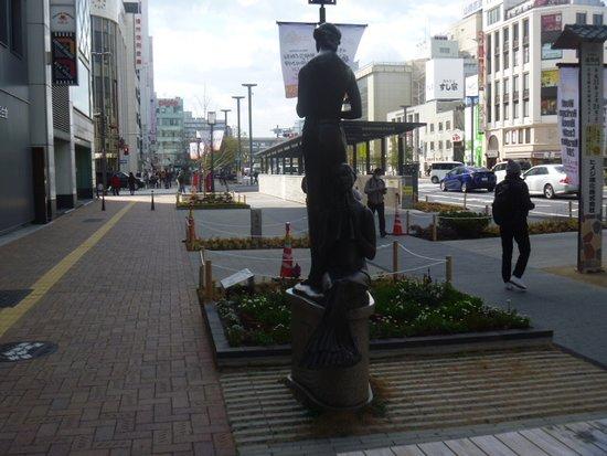 Maiorita Ai no Shinwa Statue