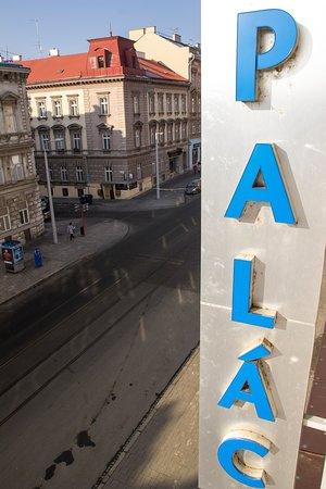 Hotel Palac: Widok z pokoju