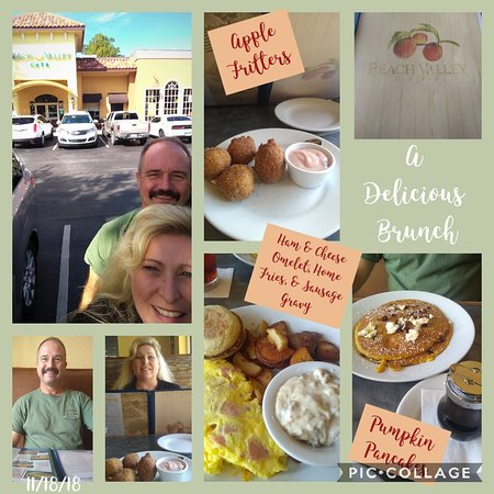 Peach Valley Cafe: November Brunch Collage