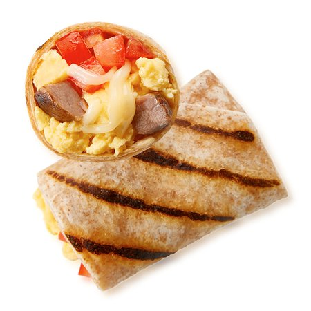 Steak Egg & Cheese Burrito